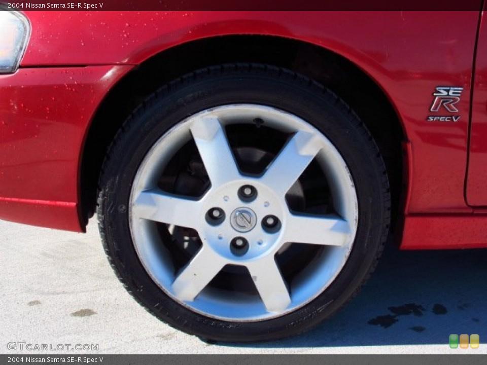 2004 Nissan Sentra SE-R Spec V Wheel and Tire Photo #86611350