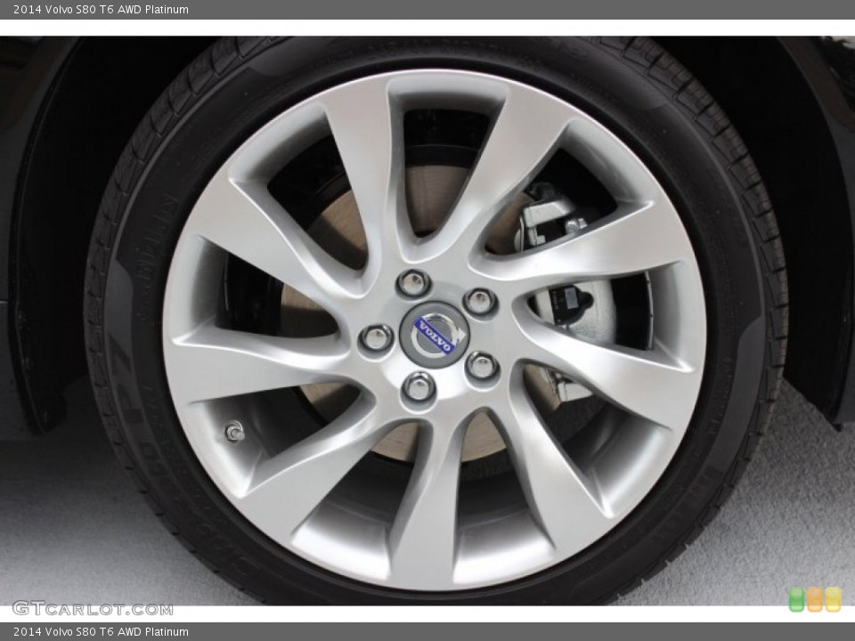 2014 Volvo S80 Wheels and Tires