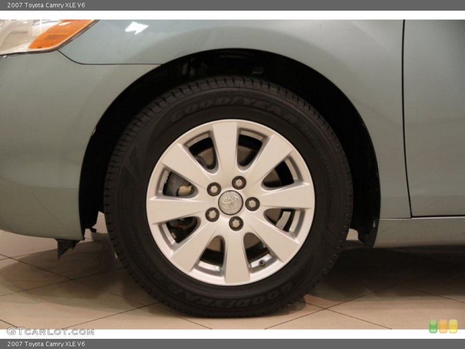 2007 toyota camry xle v6 wheel and tire photo 87337249. Black Bedroom Furniture Sets. Home Design Ideas