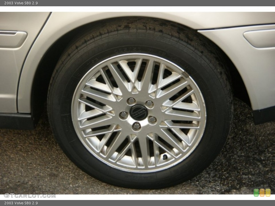 2003 Volvo S80 Wheels and Tires