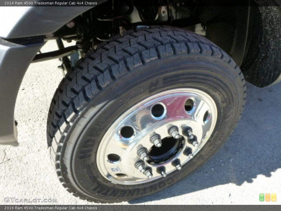 2014 Ram 4500 Tradesman Regular Cab 4x4 Chassis Wheel and Tire Photo #88157552