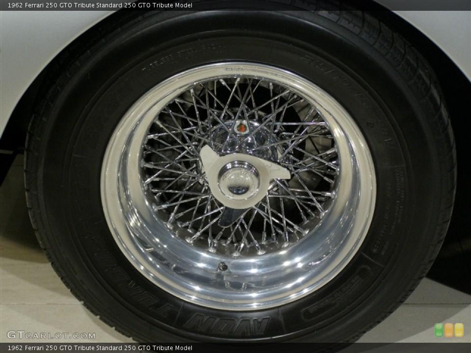 1962 Ferrari 250 GTO Tribute Wheels and Tires