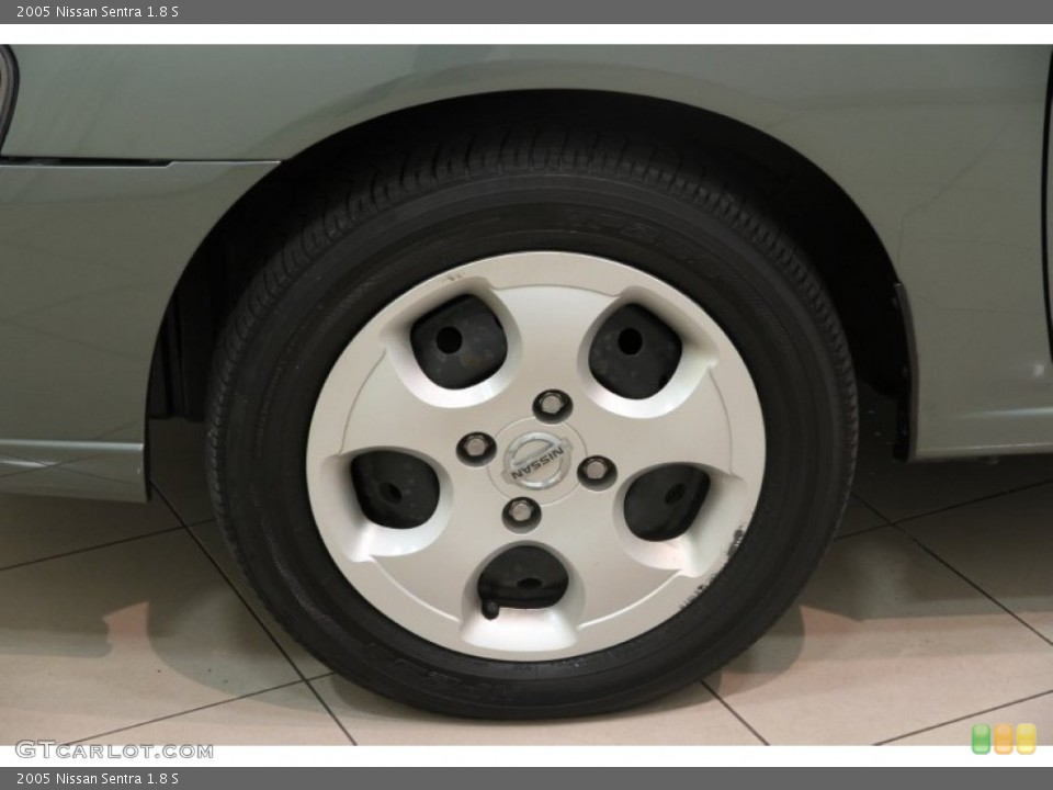 2005 Nissan Sentra 1.8 S Wheel and Tire Photo #88981993