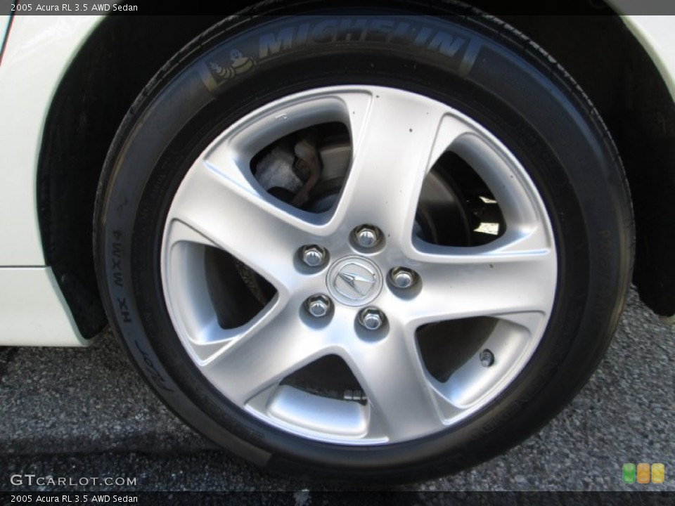 2005 Acura RL Wheels and Tires
