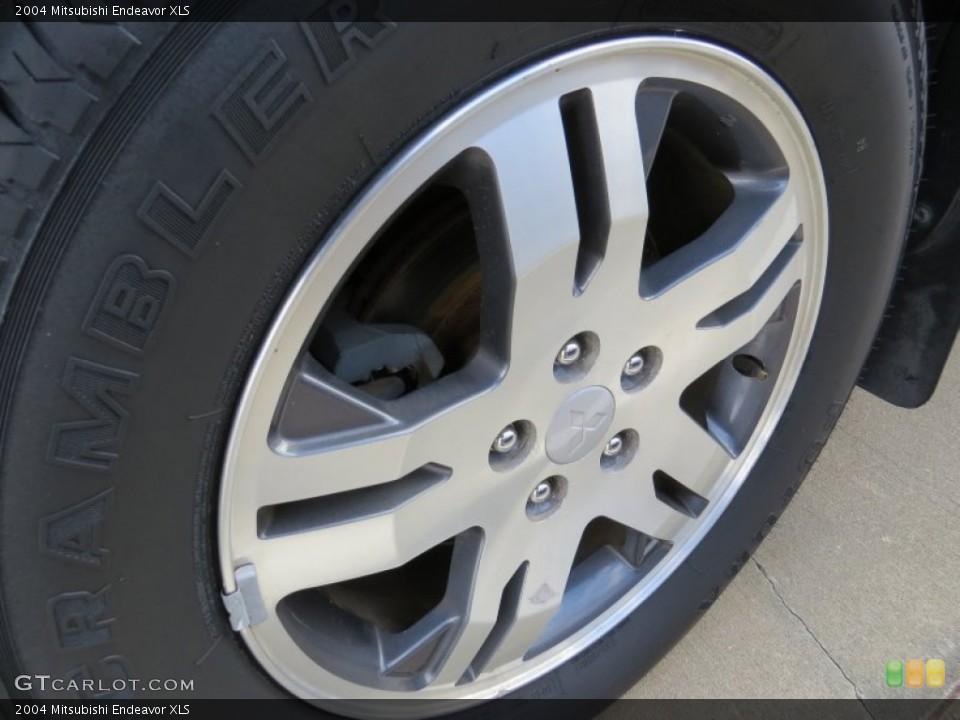 2004 Mitsubishi Endeavor XLS Wheel and Tire Photo #89938341