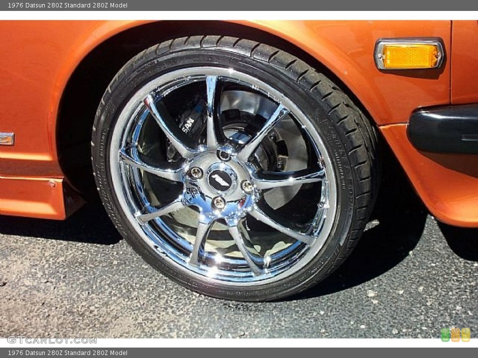 1976 Datsun 280Z Wheels and Tires