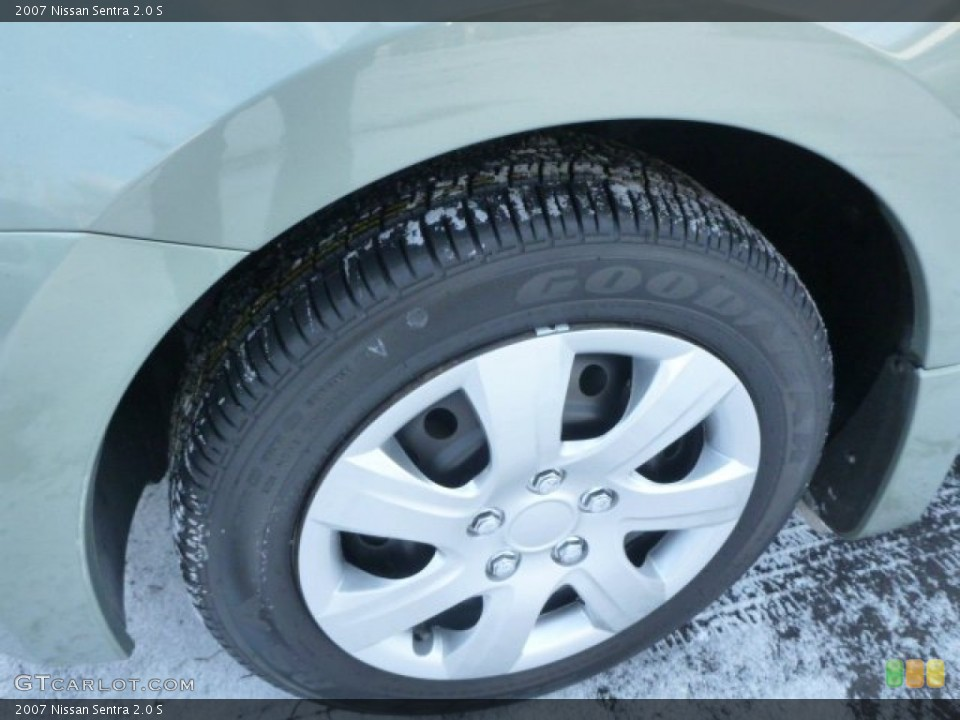 2007 Nissan Sentra Wheels and Tires