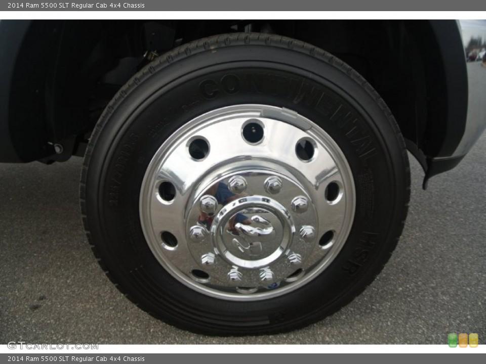 2014 Ram 5500 SLT Regular Cab 4x4 Chassis Wheel and Tire Photo #90816135