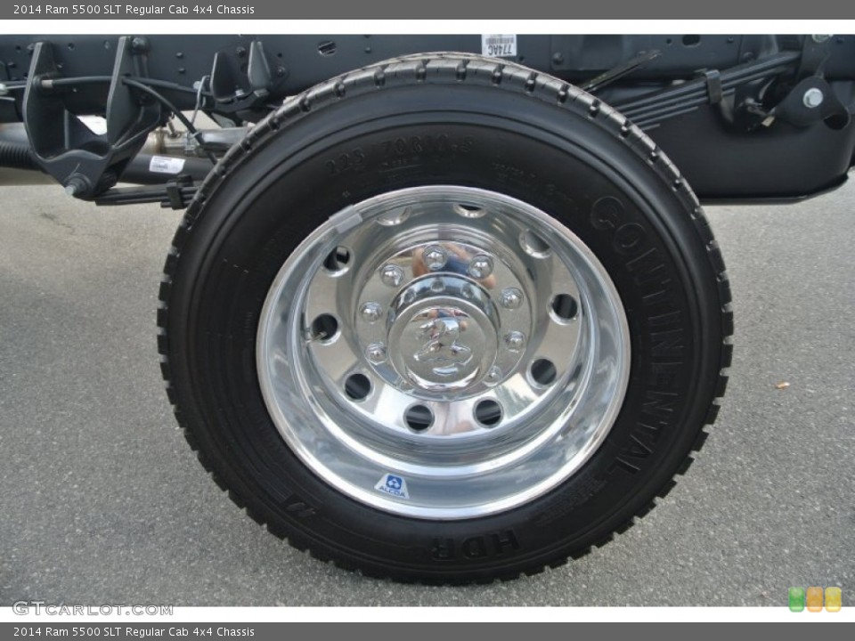 2014 Ram 5500 SLT Regular Cab 4x4 Chassis Wheel and Tire Photo #90816174