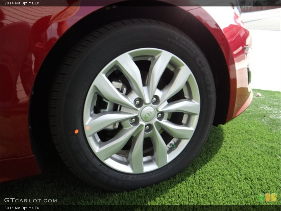 2014 Kia Optima Wheels and Tires