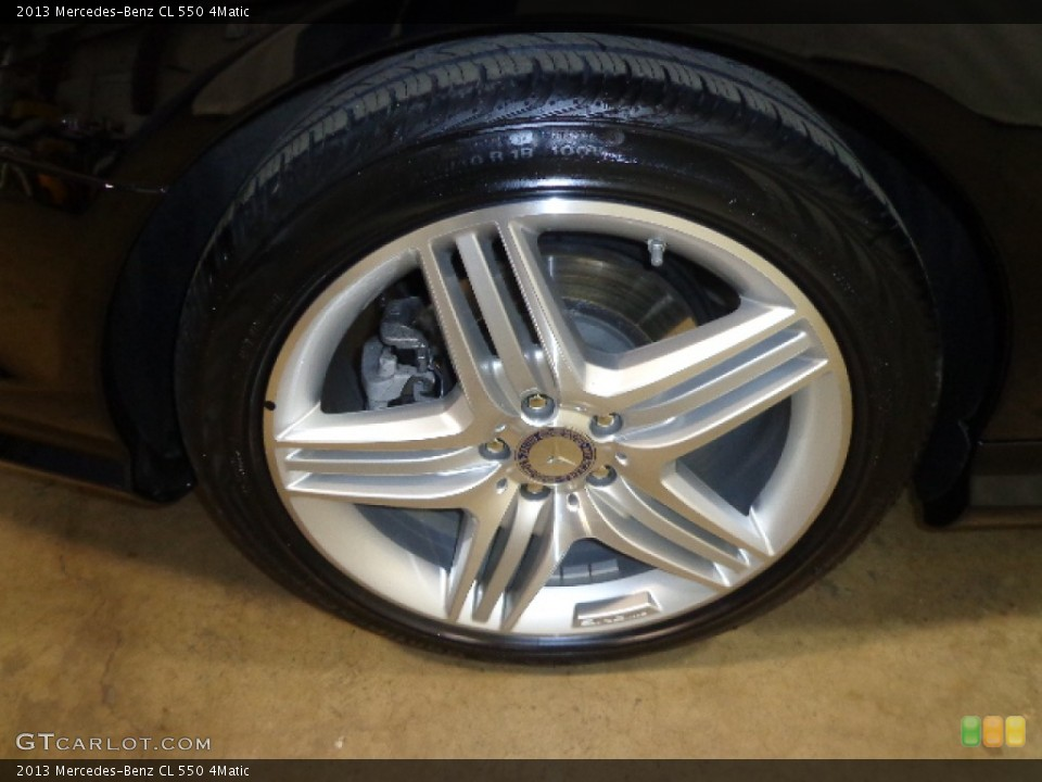 2013 Mercedes-Benz CL Wheels and Tires