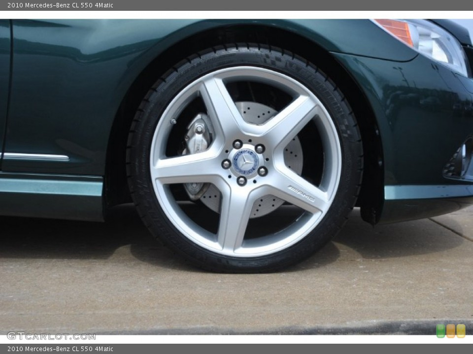 2010 Mercedes-Benz CL Wheels and Tires