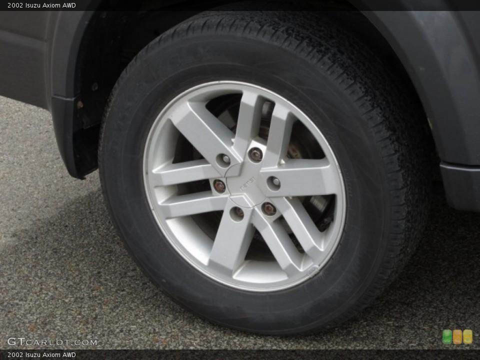 2002 Isuzu Axiom Wheels and Tires