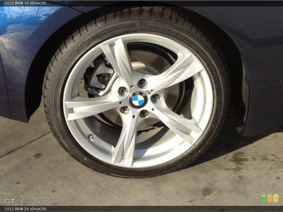 2012 Bmw Z4 Sdrive28i Wheel And Tire Photo 92190601