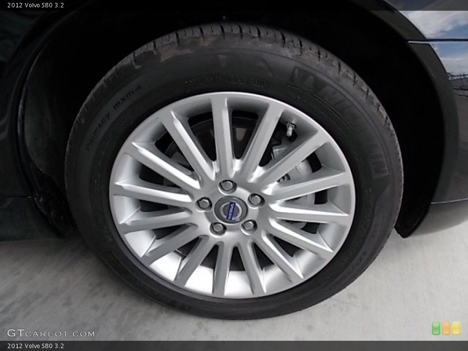 2012 Volvo S80 Wheels and Tires