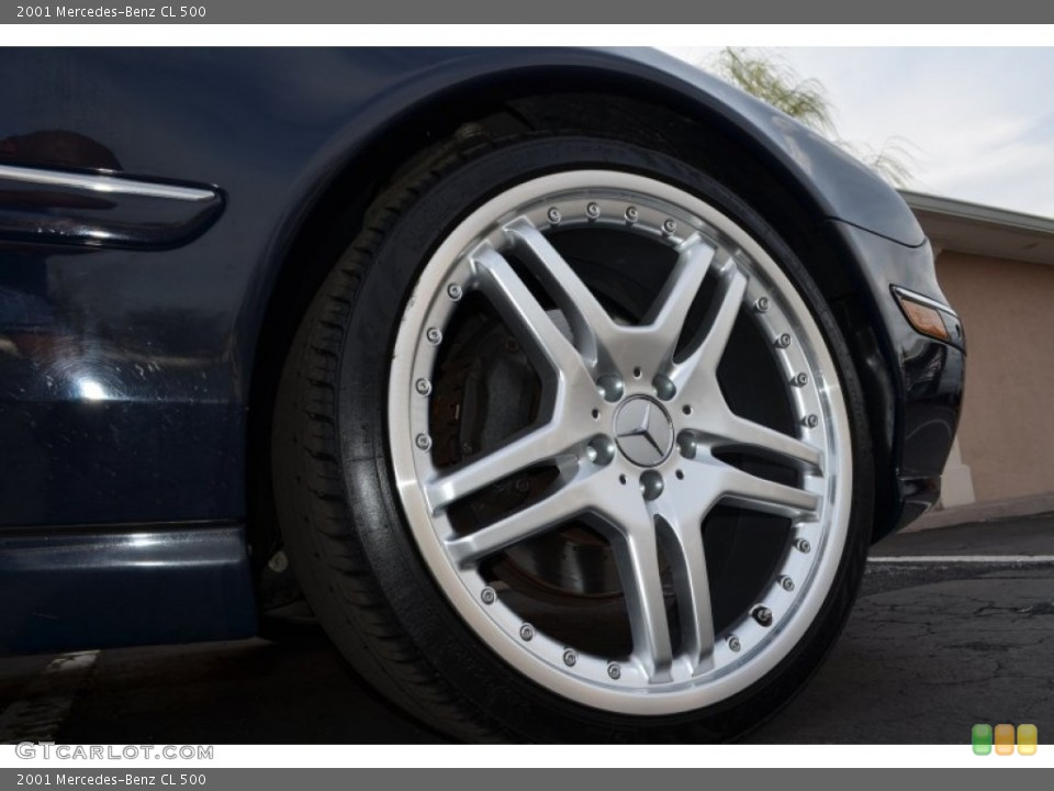 2001 Mercedes-Benz CL Wheels and Tires