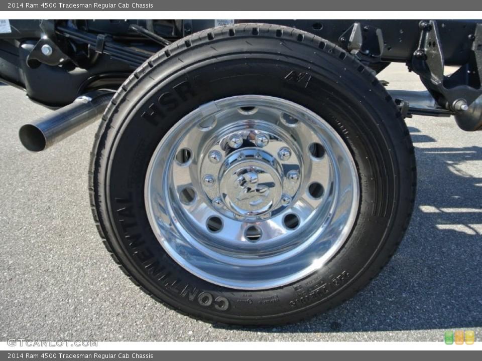 2014 Ram 4500 Tradesman Regular Cab Chassis Wheel and Tire Photo #93339632