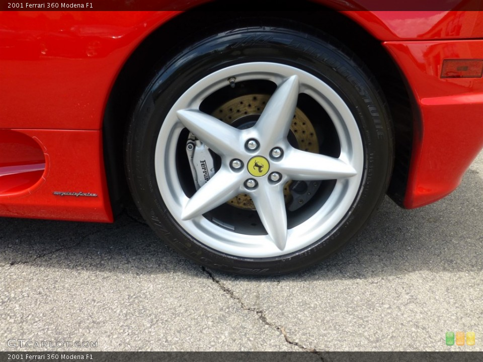 2001 Ferrari 360 Wheels and Tires