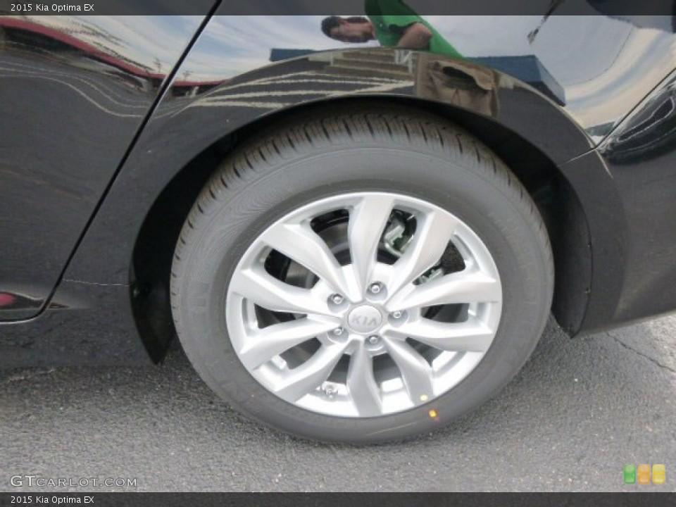 2015 Kia Optima EX Wheel and Tire Photo #94514225
