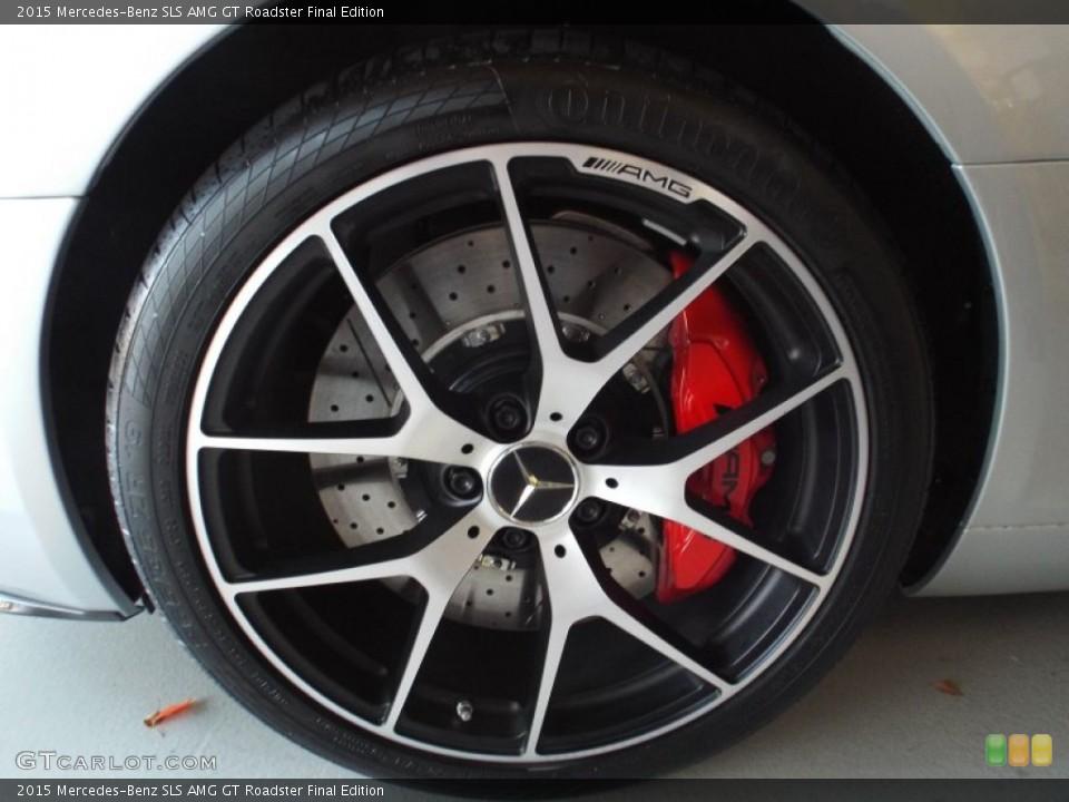 2015 Mercedes-Benz SLS Wheels and Tires