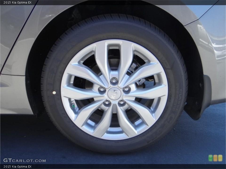 2015 Kia Optima Wheels and Tires