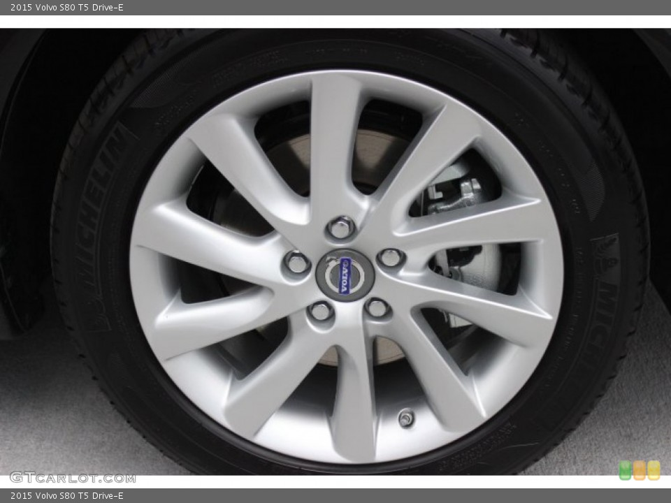 2015 Volvo S80 Wheels and Tires