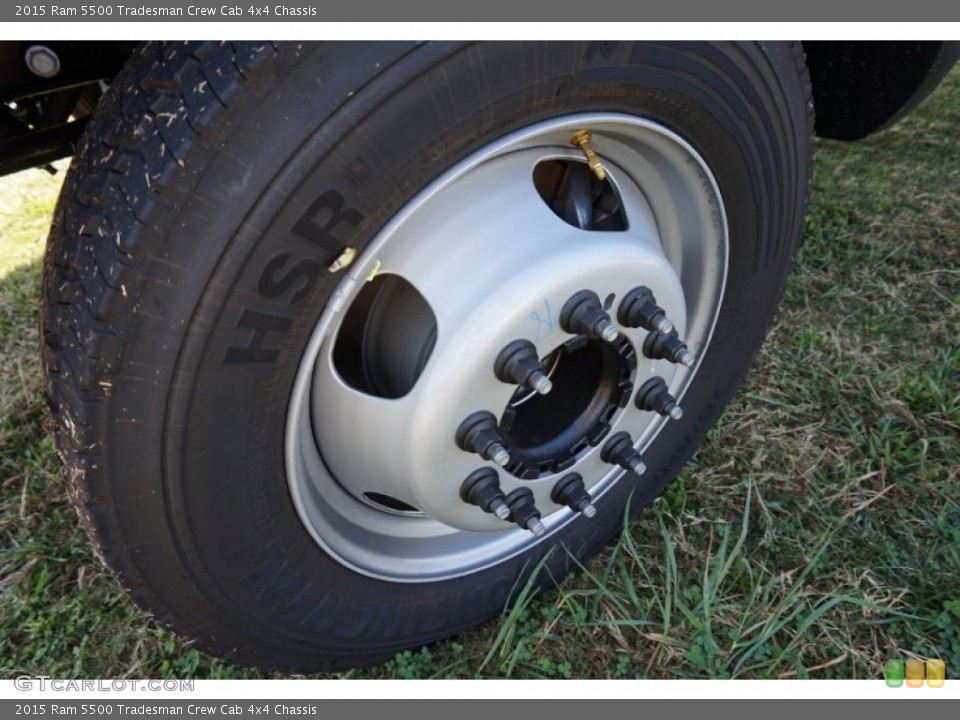 2015 Ram 5500 Tradesman Crew Cab 4x4 Chassis Wheel and Tire Photo #98573758