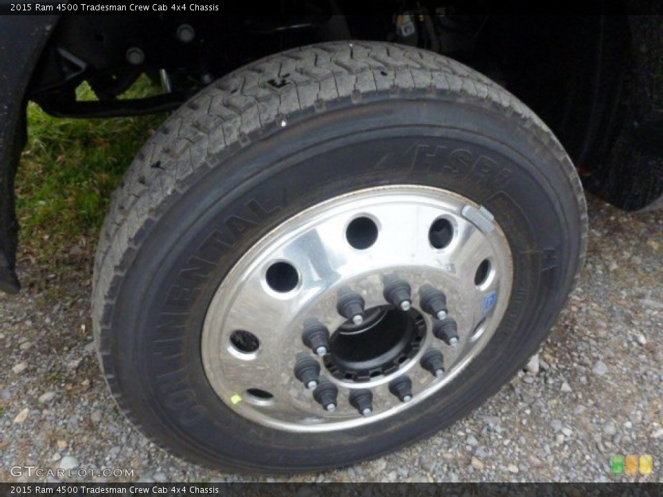 2015 Ram 4500 Wheels and Tires