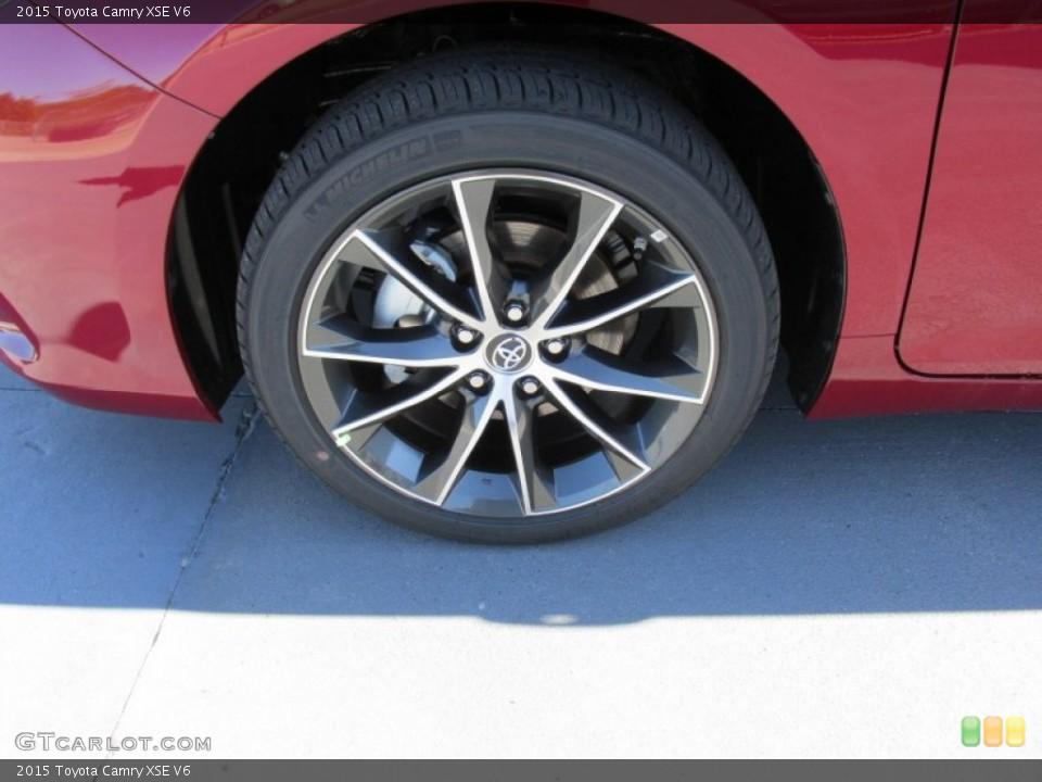 2015 Toyota Camry Wheels 2015 Toyota Camry Xse v6 Wheel