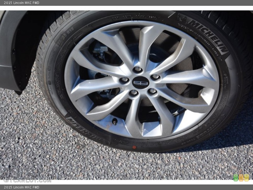 2015 Lincoln MKC FWD Wheel and Tire Photo #99498397
