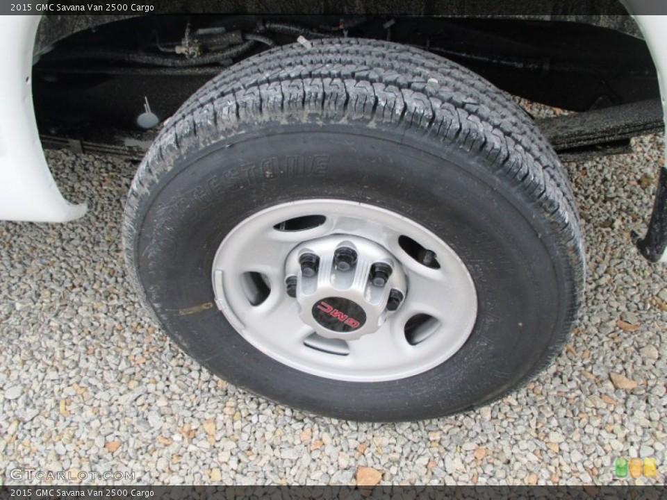 2015 GMC Savana Van Wheels and Tires