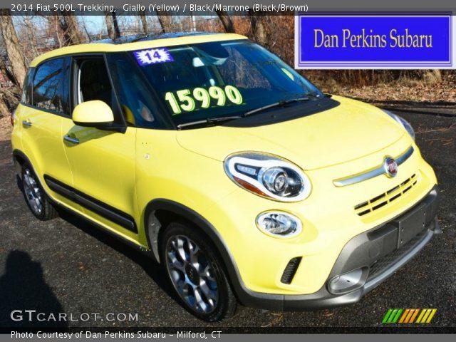 2014 Fiat 500L Trekking in Giallo (Yellow)
