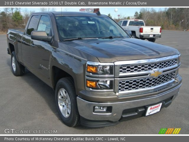 2015 Chevrolet Silverado 1500 LT Double Cab in Brownstone Metallic