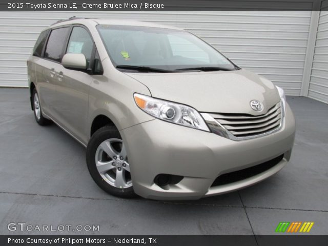 creme brulee mica 2015 toyota sienna le bisque interior vehicle archive. Black Bedroom Furniture Sets. Home Design Ideas