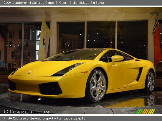 2004 Lamborghini Gallardo Coupe E-Gear in Giallo Midas
