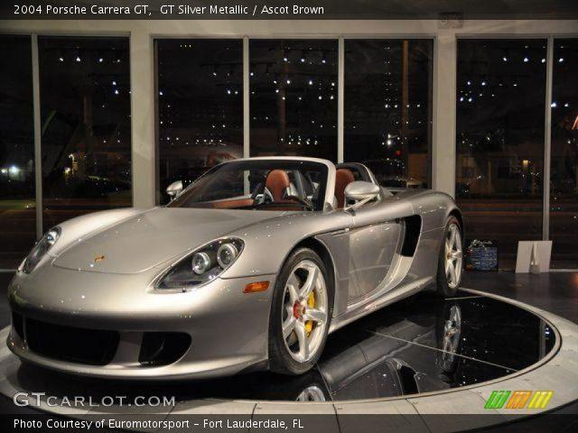 2004 Porsche Carrera GT  in GT Silver Metallic