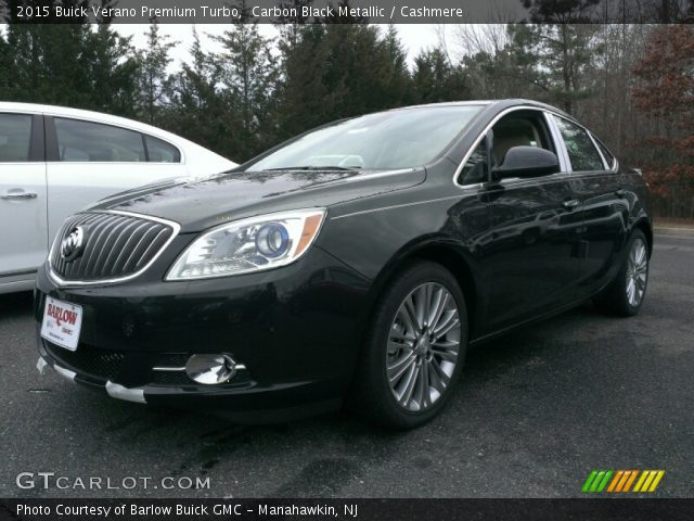 2015 Buick Verano Premium Turbo in Carbon Black Metallic