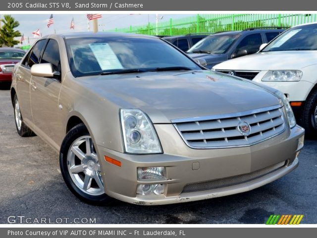 2005 Cadillac STS V8 in Sand Storm