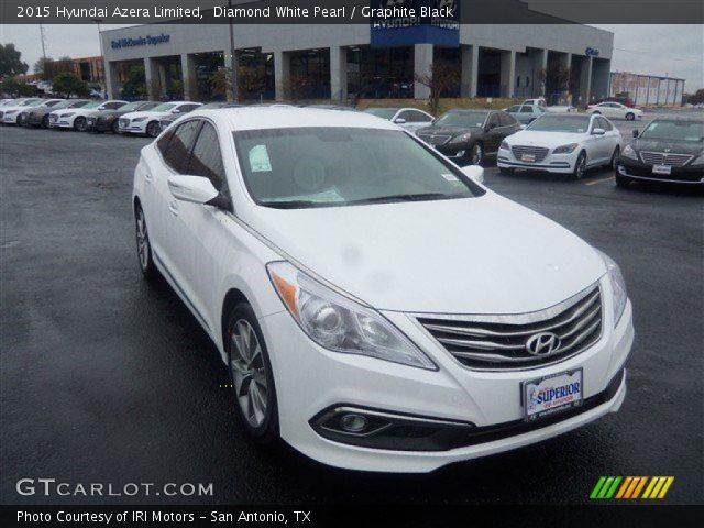 2015 Hyundai Azera Limited in Diamond White Pearl