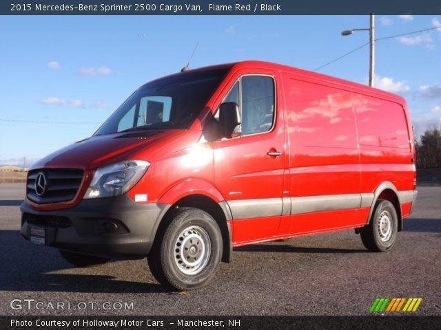 2015 Mercedes-Benz Sprinter 2500 Cargo Van in Flame Red