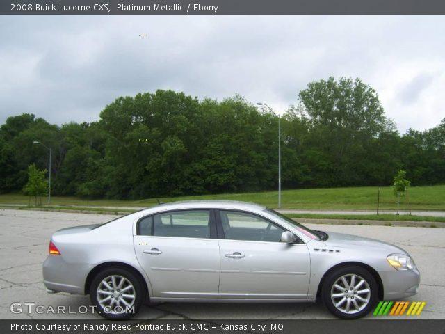 Platinum Metallic - 2008 Buick Lucerne CXS - Ebony Interior | GTCarLot ...