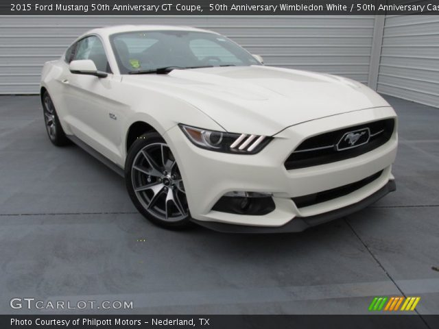 50th anniversary wimbledon white 2015 ford mustang 50th anniversary gt coupe 50th. Black Bedroom Furniture Sets. Home Design Ideas