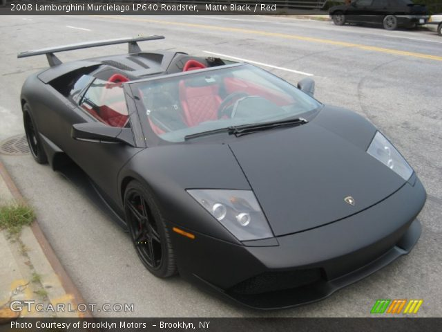 2008 Lamborghini Murcielago LP640 Roadster in Matte Black