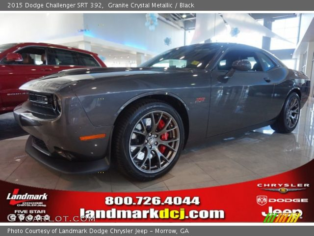 granite crystal metallic 2015 dodge challenger srt 392. Black Bedroom Furniture Sets. Home Design Ideas