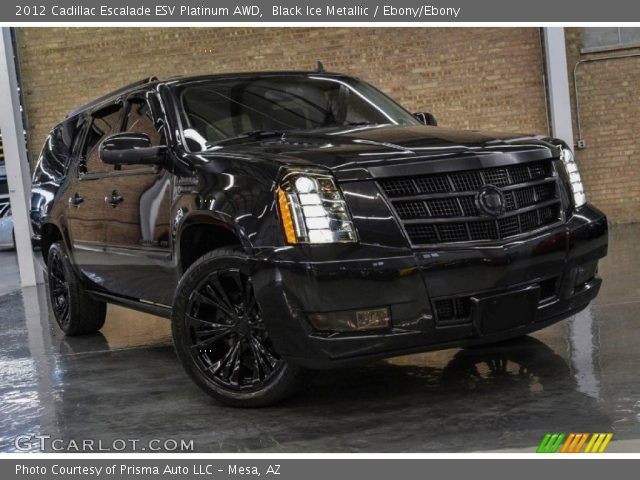 2012 Cadillac Escalade ESV Platinum AWD in Black Ice Metallic