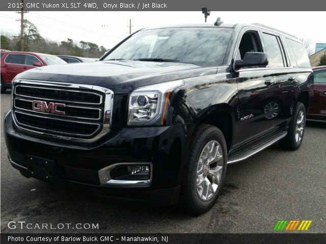 2015 GMC Yukon XL SLT 4WD in Onyx Black