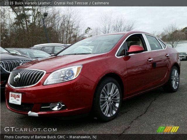 2015 Buick Verano Leather in Crystal Red Tintcoat