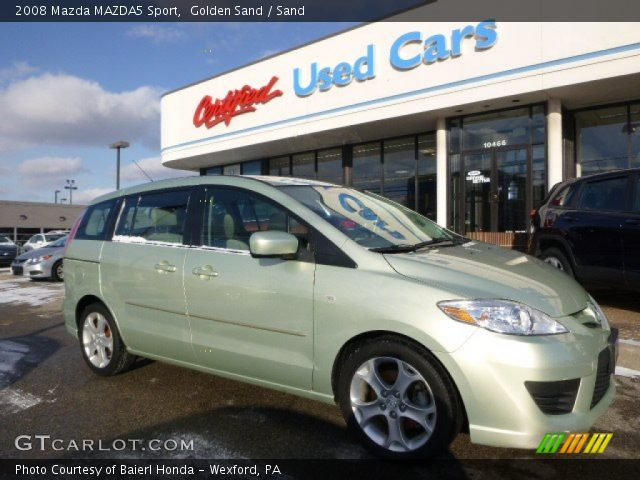 2008 Mazda MAZDA5 Sport in Golden Sand