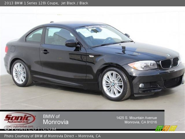 2013 BMW 1 Series 128i Coupe in Jet Black