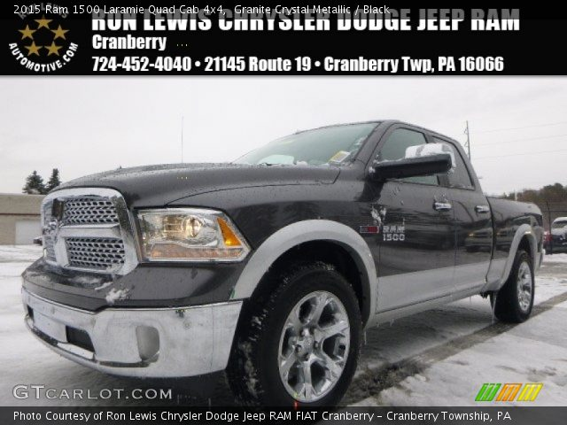 2015 Ram 1500 Laramie Quad Cab 4x4 in Granite Crystal Metallic